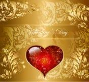 праздник сердца карточки Стоковые Фотографии RF
