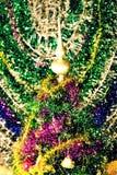 праздник украшения принципиальной схемы рождества цветастый орнаментирует сезонное традиционное Стоковое фото RF