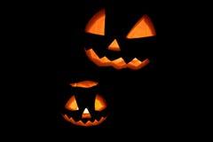 Праздник хеллоуина самый лучший на черноте Стоковое фото RF