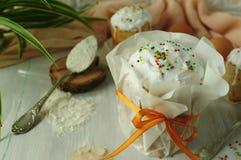 Праздничная выпечка пасхи Пасха Стоковые Фотографии RF