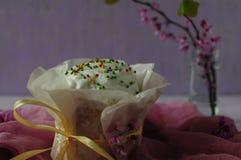 Праздничная выпечка пасхи Пасха Стоковая Фотография RF
