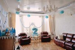 Праздничная комната Стоковая Фотография RF