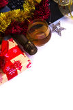 Праздничная корпоративная карточка Стоковые Фото