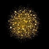 праздничная ноча светов Стоковая Фотография RF