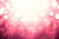 Праздничная предпосылка конспекта xmas с светами bokeh defocused и Стоковое Изображение