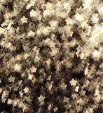 Праздничная предпосылка сияющих золотых звезд Стоковая Фотография