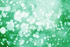 Праздничная предпосылка с естественным bokeh и яркими золотыми светами Винтажная волшебная предпосылка с цветом Стоковые Изображения