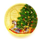 Праздничная плита  Стоковая Фотография