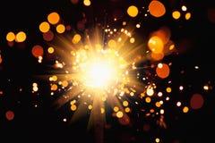 Праздничная светлая предпосылка Стоковые Изображения RF