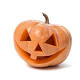 Праздничная тыква высекаенная хеллоуином стоковое фото