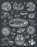 Праздничное меню Стоковое Изображение