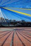 Праздничное украшение квадрата Стоковая Фотография