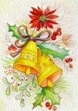 Праздничные колоколы Стоковые Фото