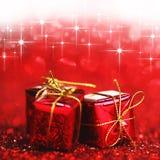 Праздничные подарки стоковые изображения rf