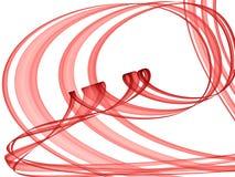 праздничные прокладки красного цвета Стоковое Фото