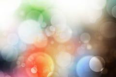 Праздничный красивый multi свет bokeh цвета, defocused предпосылка нерезкости стоковая фотография rf
