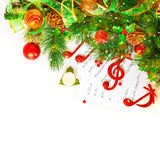 Праздничный музыкальный натюрморт Стоковая Фотография RF