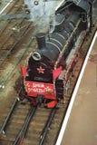 Праздничный поезд пара Стоковые Фотографии RF