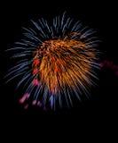 праздничный салют Стоковые Фотографии RF