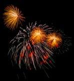 праздничный салют Стоковое фото RF
