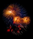 праздничный салют Стоковая Фотография