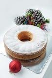 Праздничный торт Стоковое Изображение