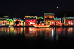 праздничный фонарик Стоковые Фото
