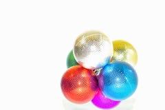 Праздничный шарик орнамента Стоковые Фото