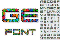 Праздничный шрифт масленицы иллюстрация вектора