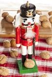 Праздничный Щелкунчик рождества Стоковые Фото
