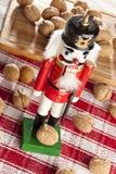 Праздничный Щелкунчик рождества Стоковые Фотографии RF