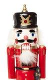 Праздничный Щелкунчик рождества Стоковые Изображения