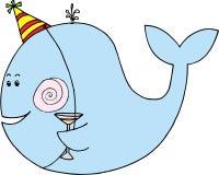 праздновать кита Стоковые Изображения RF