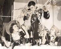 праздновать Новый Год стоковое изображение