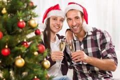 Праздновать рождество или Новый Год Стоковые Фотографии RF