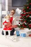 праздновать рождество стоковое изображение