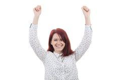 праздновать успех Стоковая Фотография RF