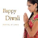 Праздновать фестиваль Diwali стоковое изображение rf