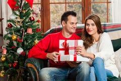 Празднующ рождество совместно Стоковое Фото