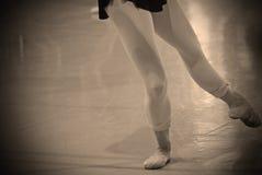 Практика балета Стоковое Изображение
