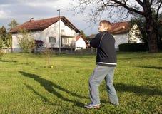 практика бейсбола стоковое фото