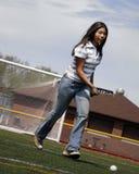 практиковать lacrosse Стоковая Фотография