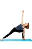 практикует йогу женщины стоковая фотография rf