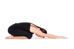 практикуя йога женщины Стоковое Фото
