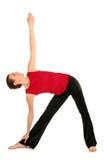 практикуя йога женщины Стоковое фото RF