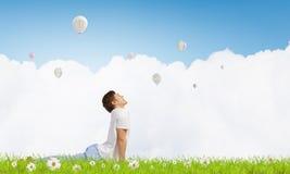 практикуя йога индюка лета Стоковое Изображение