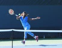 16 практик Серена Уильямс чемпиона грэнд слэм времен для США раскрывают 2013 на короле Национальн Теннисе Центре Билли Джина Стоковые Фото