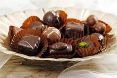 Пралине шоколада Стоковые Изображения