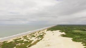 Прая делает пляж бразильянина Бразилии видеоматериал
