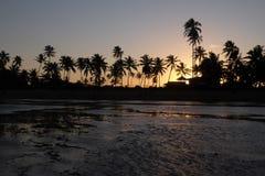 Прая делает сильную сторону - Бахю, Бразилию Стоковое Изображение RF